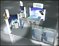 7 Foot By 7 Foot - Trade Show booth
