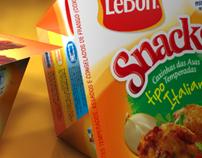 3D Snacks Package