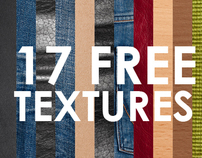 17 high quality textures for free!