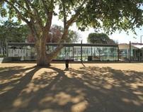 Cafetaria no Jardim da República