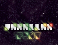 Parallax font