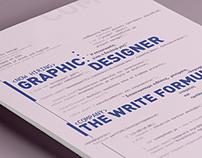Now Hiring : Graphic Designer