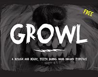 Growl - Free Font
