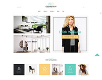 Geometry | Interior Design & Furniture WordPress Theme