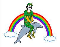 Oakland A's Illustration