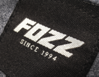 FOZZ. Logo design, Identity and limited clothing line