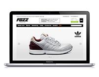 FOZZ. E-commerce website