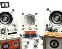 monster speaker (paper toy)