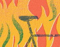 BURN THE STREET — BURN THE CARS
