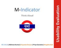 Usability Evaluation: M Indicator Mobile app