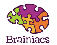 Brainiacs Toy Store Branding