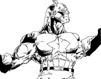Captain America (Ink)