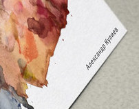 Artist Business Card. VASHGD Homework.
