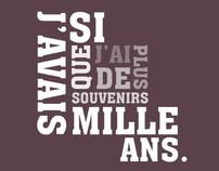 Baudelaire / Texte-image