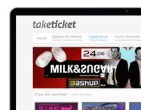 Taketicket - Florianópolis [WEB DESIGN / FRONT]