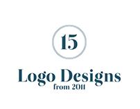 15 Logo Designs from 2011
