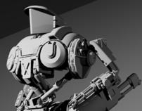 RoboCop 2 - Cain 3D Model (AutoCAD)