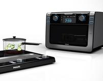 Micro-ondas & Cooktop Philips