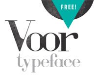 Voor Typeface