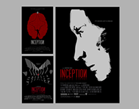 Inception minimalist poster series