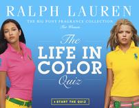 Ralph Lauren - Life in Color quiz