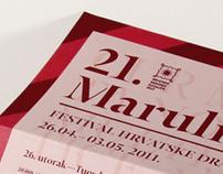 21st Marulic Days, festival of Croatian drama