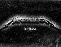Especial Multimedia - Metallica en Lima