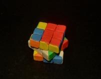 Stop Motion Type Rubik's Cube