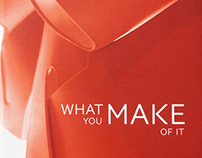 What You Make of It (A Book on the Future of Furniture)