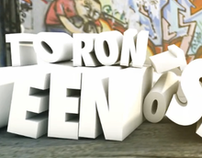 """C4D Text Animation Example - """"Queen St."""""""