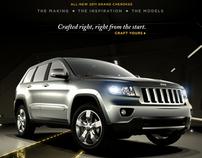 2011 Jeep Grand Cherokee Microsite