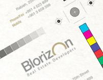 Blorizon - Corporate identity