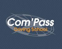 Com'Pass Driving School / Business Stationary