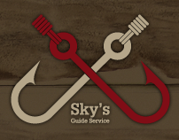 Colorcubic Web Design for Skys Guide Service