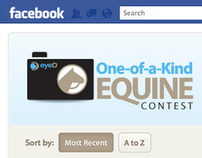 eyeD One-of-a-Kind Equine Facebook Contest