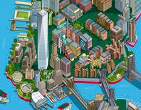 Circle Line 101 New York Sights Illustrated Map