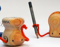 Formiaki - wooden toys