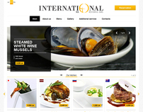 International restaurant