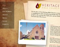 Heritage Bible Church Website