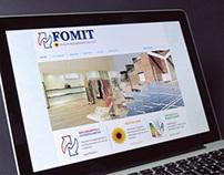 FOMIT • logo & website restyle