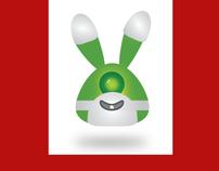 Alien Easter Bunny Wallpaper Collection