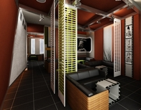 Cafè interior design
