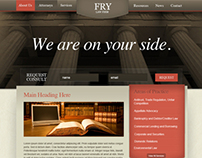 Fry Law Firm - UI