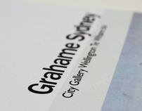A Booklet Design For Grahame Sydney