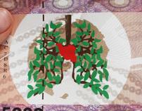 Banknote Design (international year of clean air)