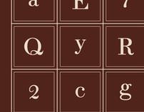 Typeface Design: Jesper