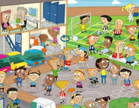 The Premier League - Get On With The Game Kids