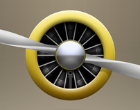 Propeller engine