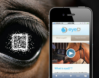 eyeD Product Launch: Event Collateral and Mobile Site