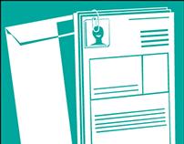 University Orientation- pamphlet icons